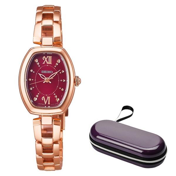 (時計ケースセット)(国内正規品)(セイコー)SEIKO 腕時計 SWFA180 セイコーセレクション レディース(ステンレスバンド ソーラー アナログ)(快適家電デジタルライフ)