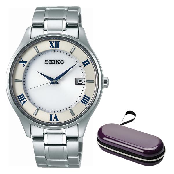 (時計ケースセット)(国内正規品)(セイコー)SEIKO 腕時計 SBPX113 セイコーセレクション メンズ(チタンバンド ソーラー アナログ)(快適家電デジタルライフ)