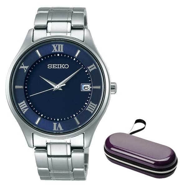 (10月新商品)(10月26日発売予定)(時計ケースセット)(国内正規品)(セイコー)SEIKO 腕時計 SBPX115 セイコーセレクション メンズ(チタンバンド ソーラー アナログ)(快適家電デジタルライフ)