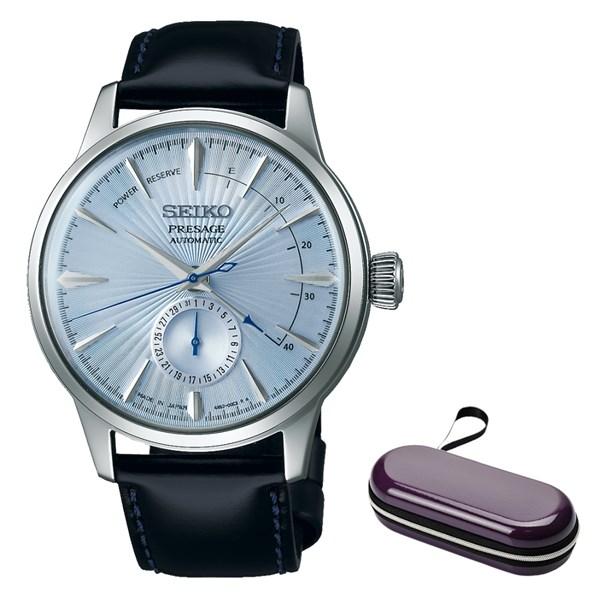(時計ケースセット)(国内正規品)(セイコー)SEIKO 腕時計 SARY131 (プレザージュ)PRESAGE メンズ ベーシックライン(牛革バンド 自動巻き(手巻付) 多針アナログ)(快適家電デジタルライフ)