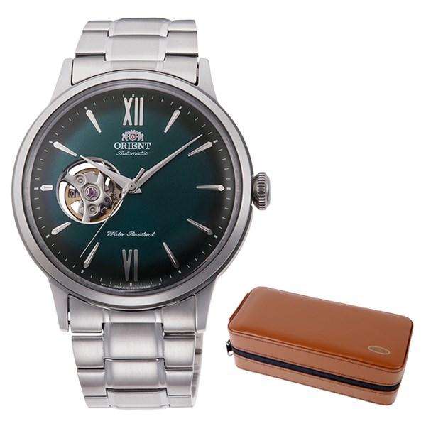 (ケースセット)(国内正規品)(オリエント)ORIENT 腕時計 RN-AG0015E (クラシック)CLASSIC メンズ セミスケルトン(ステンレスバンド 自動巻き(手巻付) アナログ)(快適家電デジタルライフ)