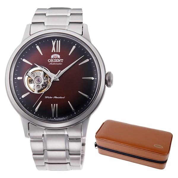 (ケースセット)(国内正規品)(オリエント)ORIENT 腕時計 RN-AG0016Y (クラシック)CLASSIC メンズ セミスケルトン(ステンレスバンド 自動巻き(手巻付) アナログ)(快適家電デジタルライフ)