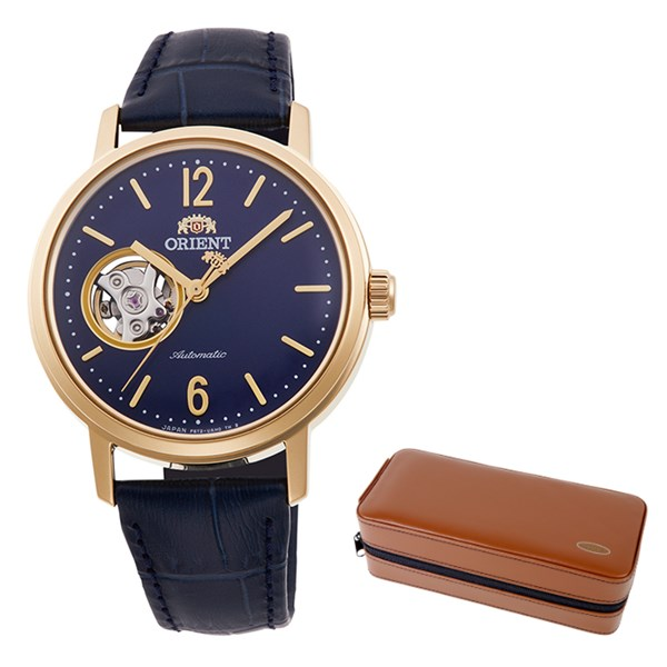 (ケースセット)(国内正規品)(オリエント)ORIENT 腕時計 RN-AG0021L (クラシック)CLASSIC メンズ レディース(牛革 自動巻き(手巻付) アナログ)(快適家電デジタルライフ)