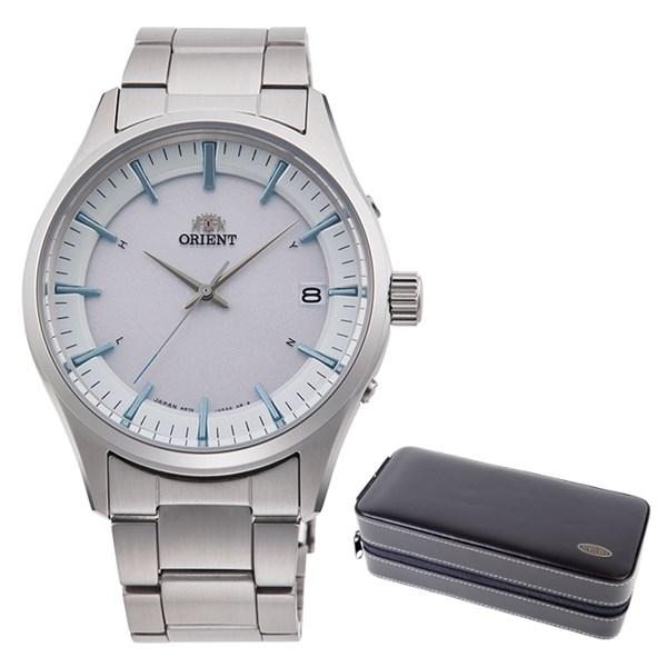(ケースセット)(国内正規品)(オリエント)ORIENT 腕時計 RN-SE0001S (コンテンポラリー)CONTEMPORARY メンズ レディース(ステンレスバンド 電波ソーラー アナログ)(快適家電デジタルライフ)