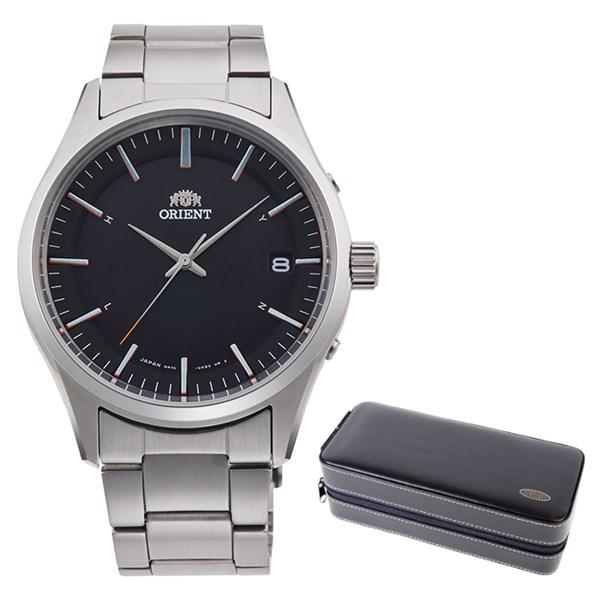 (ケースセット)(国内正規品)(オリエント)ORIENT 腕時計 RN-SE0002B (コンテンポラリー)CONTEMPORARY メンズ レディース(ステンレスバンド 電波ソーラー アナログ)(快適家電デジタルライフ)