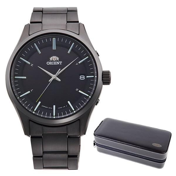 (ケースセット)(国内正規品)(オリエント)ORIENT 腕時計 RN-SE0004B (コンテンポラリー)CONTEMPORARY メンズ レディース(ステンレスバンド 電波ソーラー アナログ)(快適家電デジタルライフ)