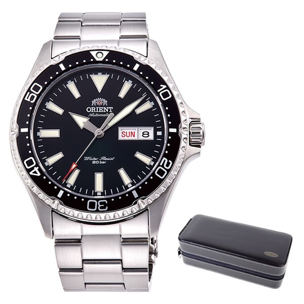 (ケースセット)(国内正規品)(オリエント)ORIENT 腕時計 RN-AA0001B (スポーツ)SPORTS メンズ(ステンレスバンド 自動巻き(手巻付) アナログ)(快適家電デジタルライフ)