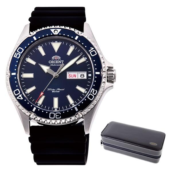 (ケースセット)(国内正規品)(オリエント)ORIENT 腕時計 RN-AA0004L (スポーツ)SPORTS メンズ(シリコンバンド 自動巻き(手巻付) アナログ)(快適家電デジタルライフ)
