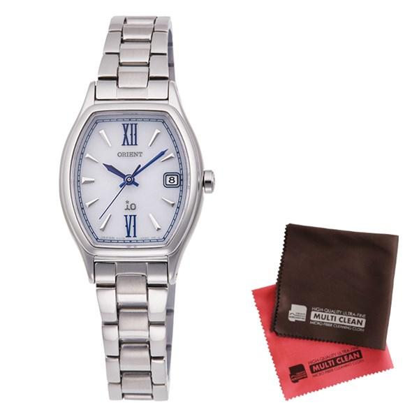 (クロスセット)(国内正規品)(オリエント)ORIENT 腕時計 RN-WG0011S iO(イオ) レディース(ステンレスバンド ソーラー アナログ)(快適家電デジタルライフ)