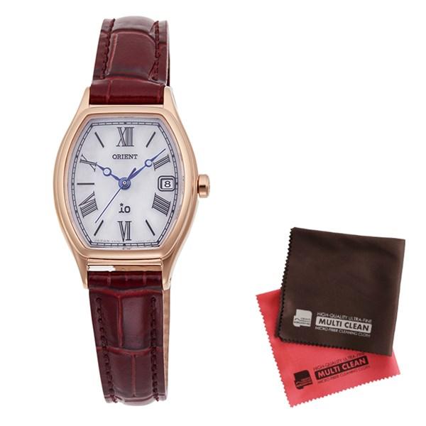 (クロスセット)(国内正規品)(オリエント)ORIENT 腕時計 RN-WG0014S iO(イオ) レディース(牛革バンド ソーラー アナログ)(快適家電デジタルライフ)