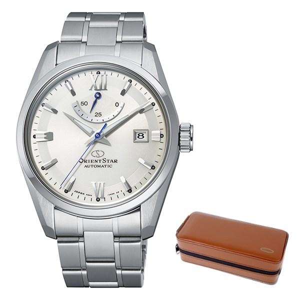 (ケースセット)(国内正規品)(オリエントスター)ORIENTSTAR 腕時計 RK-AU0006S コンテンポラリー メンズ スタンダード(ステンレスバンド 自動巻き(手巻付) 多針アナログ)(快適家電デジタルライフ)