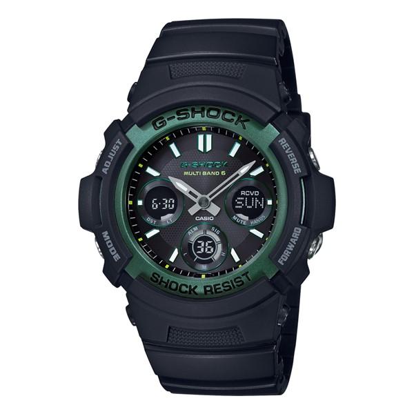 (国内正規品)(カシオ)CASIO 腕時計 AWG-M100SF-1A3JR (ジーショック)G-SHOCK メンズ FIRE PACKAGE'19(樹脂バンド 電波ソーラー アナデジ)(快適家電デジタルライフ)
