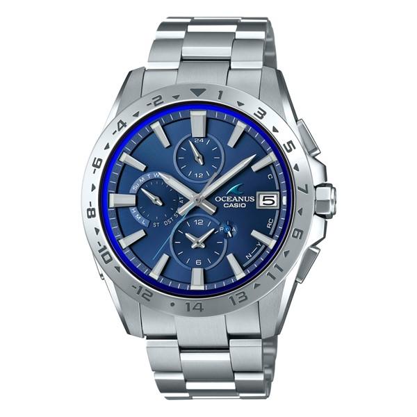 (国内正規品)(カシオ)CASIO 腕時計 OCW-T3000-2AJF (オシアナス)OCEANUS メンズ クラシックライン Bluetooth搭載(チタンバンド 電波ソーラー 多針アナログ)(快適家電デジタルライフ)