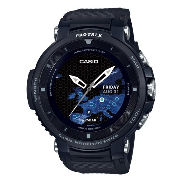 (国内正規品)(カシオ)CASIO 腕時計 WSD-F30-BK PROTREK(プロトレック) スマートアウトドアウォッチ メンズ ブラック(GPS タッチパネルディスプレイ)(快適家電デジタルライフ)