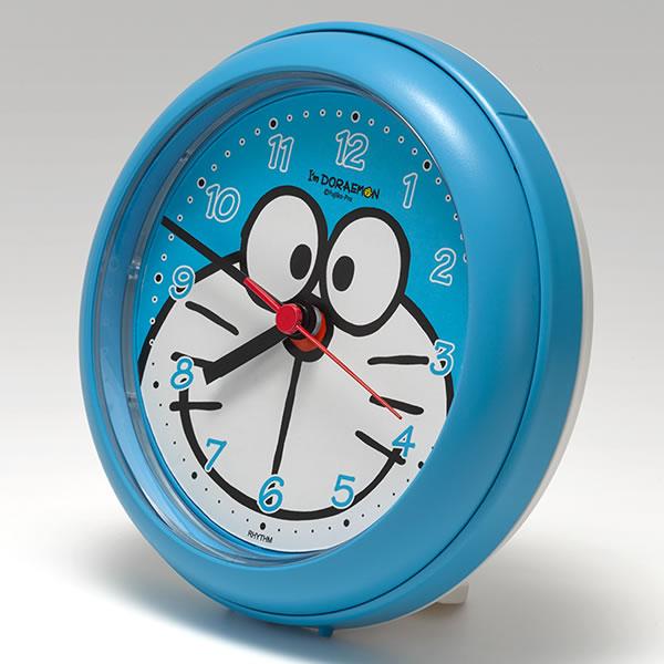 リズム時計 強化防滴・防塵型 ドラえもん バスクロック 4KG716DR04  アイムドラえもん(防水時計 お風呂クロック・バスクロック 時計 置時計 キャラクター時計 ウオッチ)(快適家電デジタルライフ)