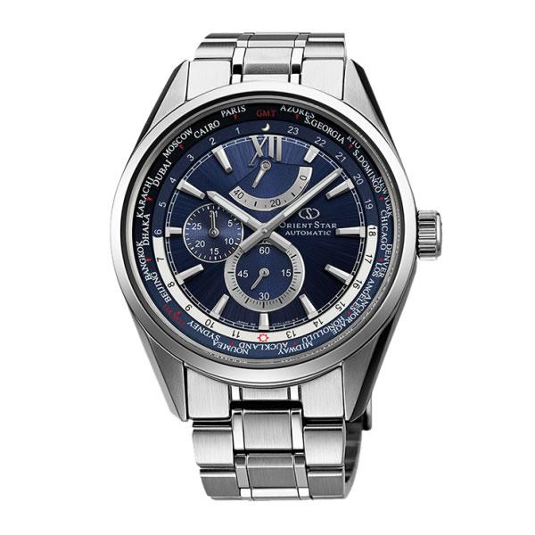 (国内正規品)(オリエントスター)ORIENTSTAR 腕時計 WZ0071JC ワールドタイム メンズ メカニカル(ステンレスバンド 自動巻き(手巻付) 多針アナログ)(快適家電デジタルライフ)