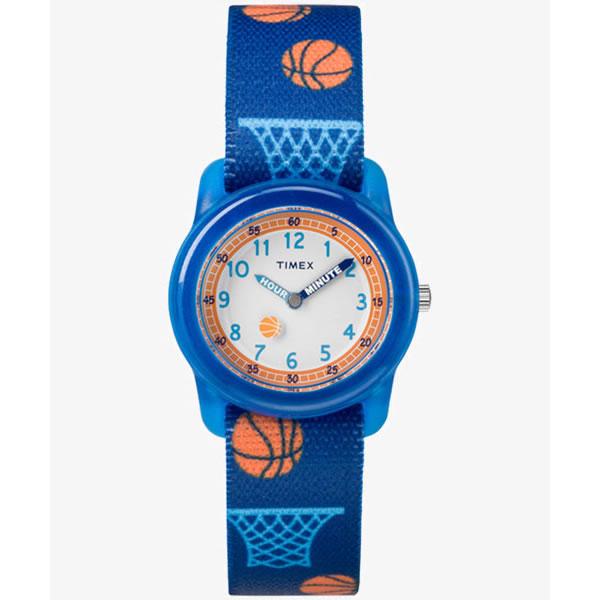【箱なしOKの場合は メール便 200円 】 [タイメックス]TIMEX TW7C16800 タイムティーチャー TIME TEACHER 腕時計 28mm ネイビー (キッズ・レディスサイズ) [正規輸入品] (メール便不可)(快適家電デジタルライフ)
