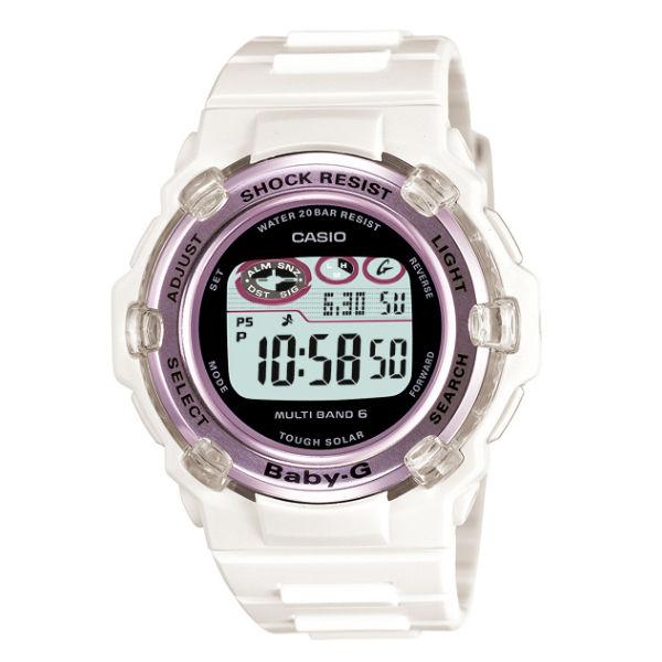 【国内正規品】 CASIO[カシオ] 腕時計 BABY-G[ベビージー] BGR-3003-7BJF[BGR30037BJF] 【Tripper トリッパー 電波 ソーラー 腕時計 レディース 電波時計 ホワイト 白】【送料・代引き手数料無料】【快適家電デジタルライフ】
