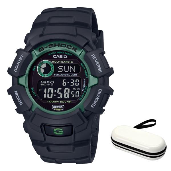 (時計ケースセット)(国内正規品)(カシオ)CASIO 腕時計 GW-2320SF-1B3JR (ジーショック)G-SHOCK メンズ FIRE PACKAGE'19(樹脂バンド 電波ソーラー デジタル)(快適家電デジタルライフ)