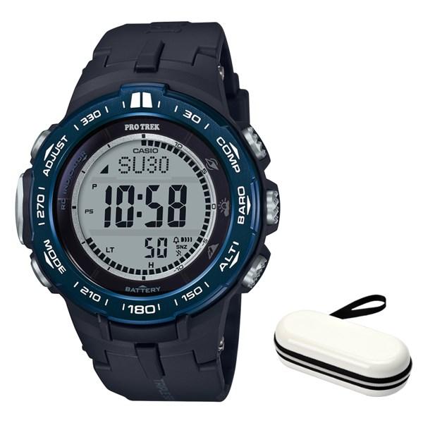 (時計ケースセット)(国内正規品)(カシオ)CASIO 腕時計 PRW-3100YB-1JF PROTREK(プロトレック) メンズ(樹脂バンド 電波ソーラー デジタル)(快適家電デジタルライフ)
