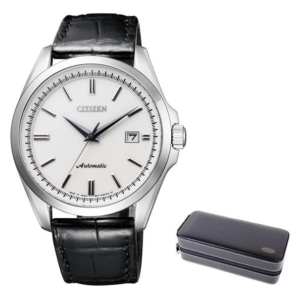(時計ケースセット)(国内正規品)(シチズン)CITIZEN 腕時計 NB1041-17A シチズンコレクション メンズ メカニカル(ワニ革バンド 自動巻き(手巻付) アナログ)(快適家電デジタルライフ)