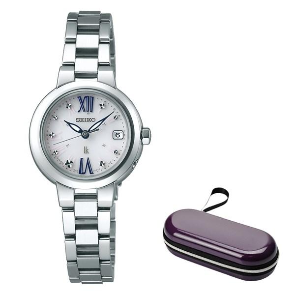 時計ケース付き(国内正規品)(セイコー)SEIKO 腕時計 SSVW135 (ルキア)LUKIA レディース(ステンレスバンド 電波ソーラー アナログ)(快適家電デジタルライフ)