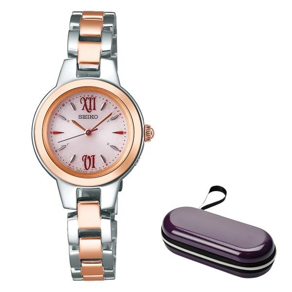 (時計ケースセット)(国内正規品)(セイコー)SEIKO 腕時計 SWFH102 セイコーセレクション レディース(ステンレスバンド 電波ソーラー アナログ)(快適家電デジタルライフ)