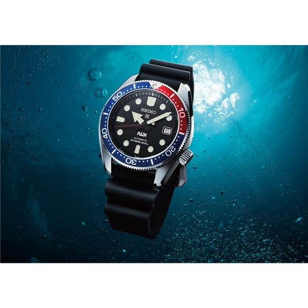 (時計ケース丸型・クロスセット)(国内正規品)(セイコー)SEIKO 腕時計 SBDC071 (プロスペックス)PROSPEX メンズ ダイバースキューバ PADIモデル(シリコンバンド 自動巻き(手巻付) アナログ)(快適家電デジタルライフ)