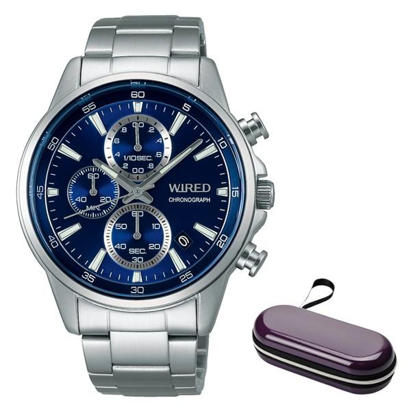 (時計ケースセット)(国内正規品)(セイコー)SEIKO 腕時計 AGAT423 (ワイアード)WIRED メンズ(ステンレスバンド クオーツ 多針アナログ)(快適家電デジタルライフ)