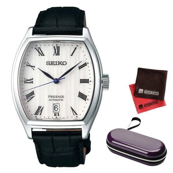 (時計ケース・クロスセット)(国内正規品)(セイコー)SEIKO 腕時計 SARY111 (プレザージュ)PRESAGE メンズ(牛革バンド 自動巻き(手巻付) アナログ)(快適家電デジタルライフ)