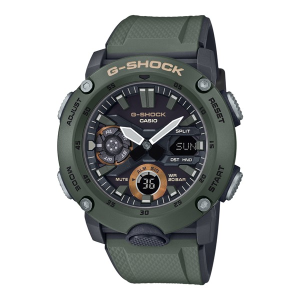 (4月新商品)(4月12日発売予定)(国内正規品)(カシオ)CASIO 腕時計 GA-2000-3AJF (ジーショック)G-SHOCK メンズ(樹脂バンド クオーツ アナデジ)(快適家電デジタルライフ)