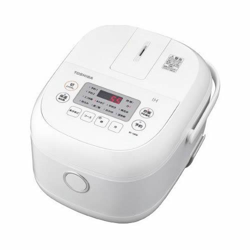 (IH炊飯器) 東芝 RC-10FM(W) IHジャー炊飯器 ホワイト 鍛造かまど銅釜 (ラッピング不可)(快適家電デジタルライフ)