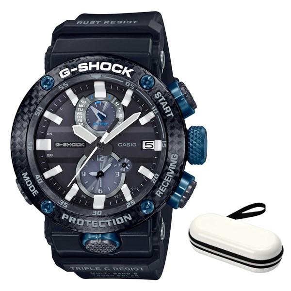 (3月新商品)(時計ケースセット)(国内正規品)(カシオ)CASIO 腕時計 GWR-B1000-1A1JF (ジーショック)G-SHOCK メンズ グラビティマスター Bluetooth搭載(カーボンコア 電波ソーラー 多針アナログ)(快適家電デジタルライフ)