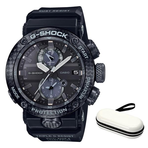 (3月新商品)(時計ケースセット)(国内正規品)(カシオ)CASIO 腕時計 GWR-B1000-1AJF (ジーショック)G-SHOCK メンズ グラビティマスター Bluetooth搭載(カーボンコア 電波ソーラー 多針アナログ)(快適家電デジタルライフ)
