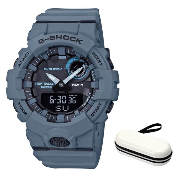 (3月新商品)(時計ケースセット)(国内正規品)(カシオ)CASIO 腕時計 GBA-800UC-2AJF (ジーショック)G-SHOCK メンズ G-SQUAD Bluetooth搭載(樹脂バンド クオーツ アナデジ)(快適家電デジタルライフ)
