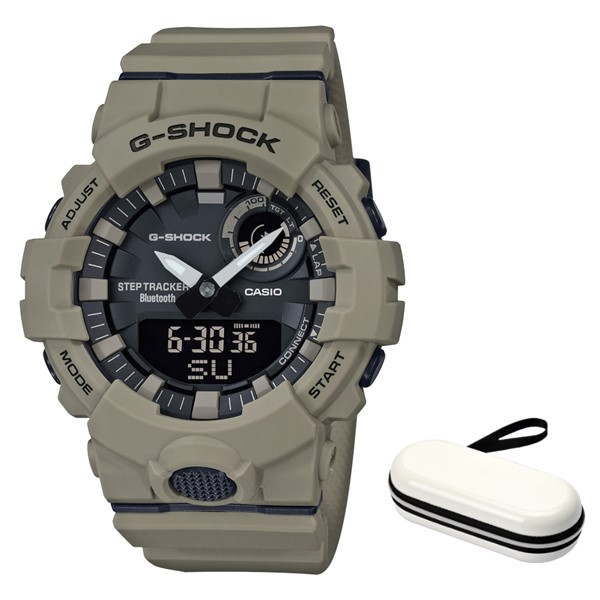 (3月新商品)(時計ケースセット)(国内正規品)(カシオ)CASIO 腕時計 GBA-800UC-5AJF (ジーショック)G-SHOCK メンズ G-SQUAD Bluetooth搭載(樹脂バンド クオーツ アナデジ)(快適家電デジタルライフ)