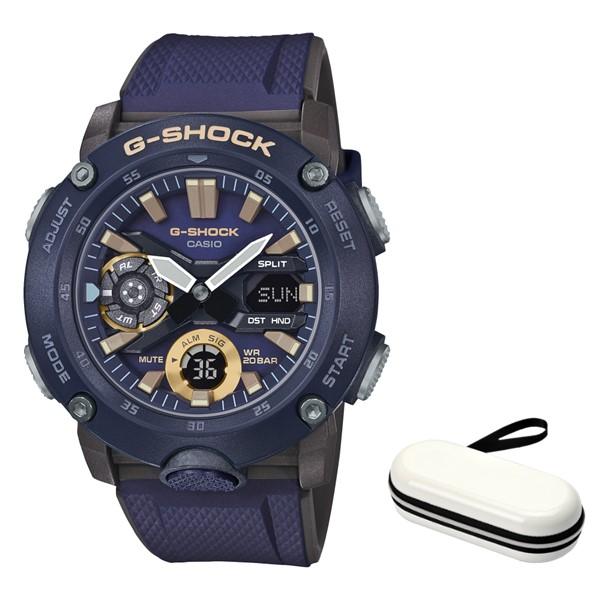(4月新商品)(4月12日発売予定)(時計ケースセット)(国内正規品)(カシオ)CASIO 腕時計 GA-2000-2AJF (ジーショック)G-SHOCK メンズ(樹脂バンド クオーツ アナデジ)(快適家電デジタルライフ)