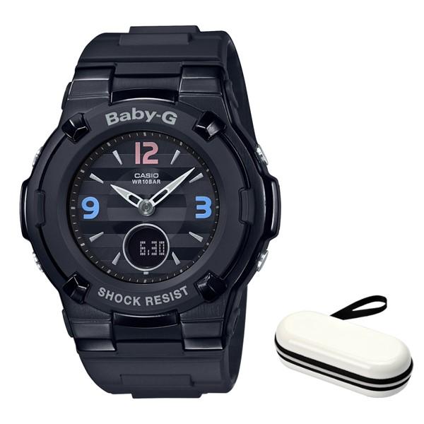 (4月新商品)(4月12日発売予定)(時計ケースセット)(国内正規品)(カシオ)CASIO 腕時計 BGA-1100TRB-1BJF (ベビーG)BABY-G レディース Retro Tricolor レトロトリコロール(樹脂バンド 電波ソーラー アナデジ)(快適家電デジタルライフ)
