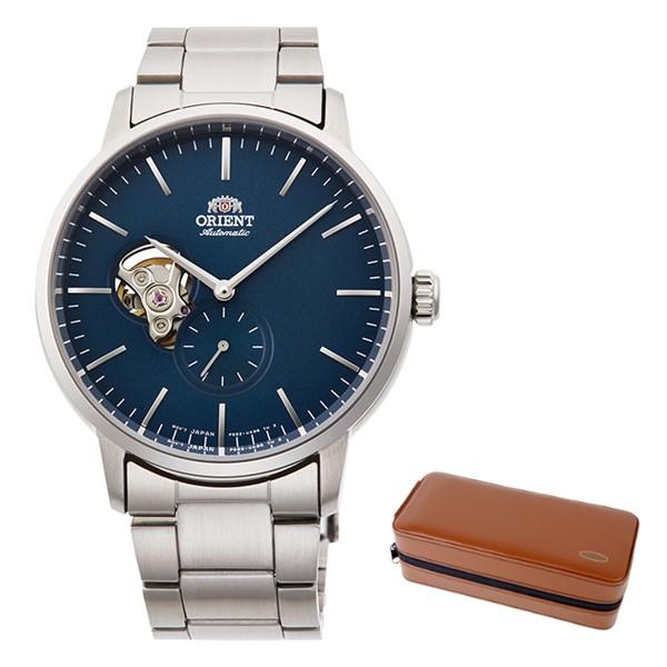 (時計ケースセット)(国内正規品)(オリエント)ORIENT 腕時計 RN-AR0101L (コンテンポラリー)CONTEMPORARY メンズ セミスケルトン(ステンレスバンド 自動巻き(手巻付) アナログ)(快適家電デジタルライフ)