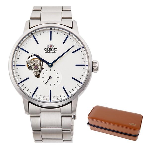 (時計ケースセット)(国内正規品)(オリエント)ORIENT 腕時計 RN-AR0102S (コンテンポラリー)CONTEMPORARY メンズ セミスケルトン(ステンレスバンド 自動巻き(手巻付) アナログ)(快適家電デジタルライフ)