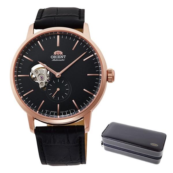 (時計ケースセット)(国内正規品)(オリエント)ORIENT 腕時計 RN-AR0103B (コンテンポラリー)CONTEMPORARY メンズ セミスケルトン(ステンレスバンド 自動巻き(手巻付) アナログ)(快適家電デジタルライフ)