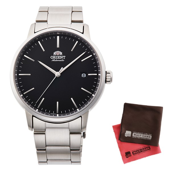 (クロスセット)(国内正規品)(オリエント)ORIENT 腕時計 RN-AC0E01B (コンテンポラリー)CONTEMPORARY メンズ(ステンレスバンド 自動巻き(手巻付) アナログ)(快適家電デジタルライフ)