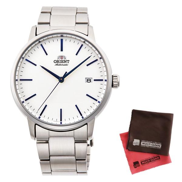 (クロスセット)(国内正規品)(オリエント)ORIENT 腕時計 RN-AC0E02S (コンテンポラリー)CONTEMPORARY メンズ(ステンレスバンド 自動巻き(手巻付) アナログ)(快適家電デジタルライフ)
