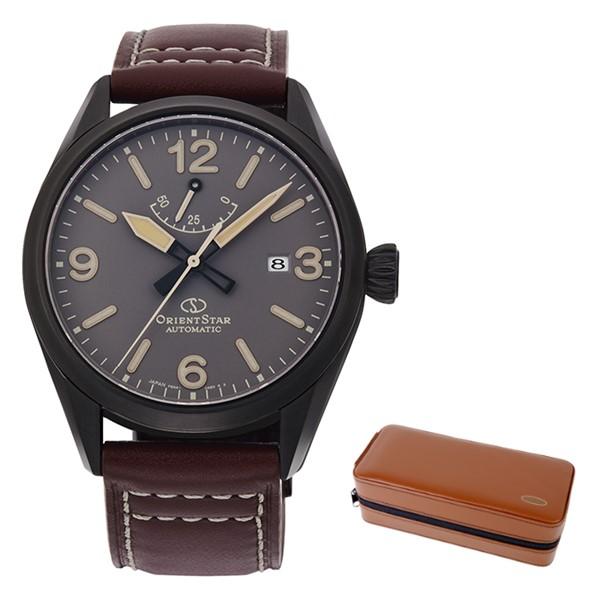 (時計ケースセット)(国内正規品)(オリエントスター)ORIENTSTAR 腕時計 RK-AU0202N (スポーツ)SPORTS メンズ アウトドア(牛革バンド 自動巻き(手巻付) アナログ)(快適家電デジタルライフ)