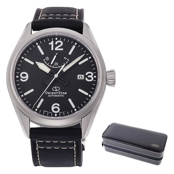 (時計ケースセット)(国内正規品)(オリエントスター)ORIENTSTAR 腕時計 RK-AU0203B (スポーツ)SPORTS メンズ アウトドア(牛革バンド 自動巻き(手巻付) アナログ)(快適家電デジタルライフ)