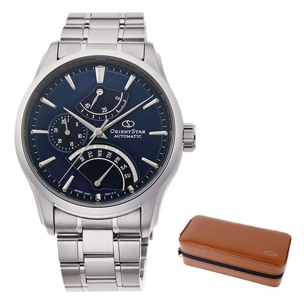 (時計ケースセット)(国内正規品)(オリエントスター)ORIENTSTAR 腕時計 RK-DE0301L (コンテンポラリー)CONTEMPORARY メンズ レトログラード(ステンレスバンド 自動巻き(手巻付) 多針アナログ)(快適家電デジタルライフ)