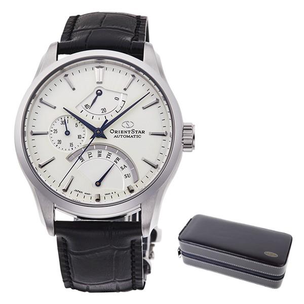 (時計ケースセット)(国内正規品)(オリエントスター)ORIENTSTAR 腕時計 RK-DE0303S (コンテンポラリー)CONTEMPORARY メンズ レトログラード(牛革バンド 自動巻き(手巻付) 多針アナログ)(快適家電デジタルライフ)