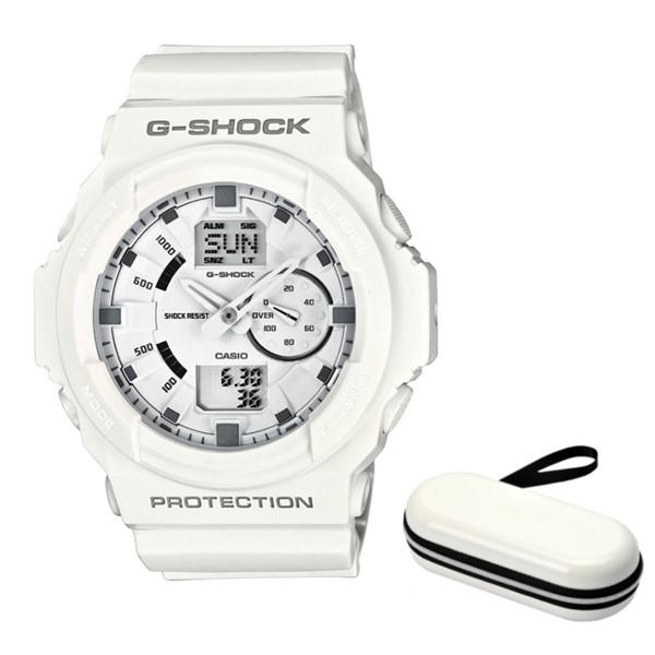 (時計ケースセット)(国内正規品)(カシオ)CASIO 腕時計 GA-150-7AJF (ジーショック)G-SHOCK メンズ(樹脂バンド クオーツ アナデジ)(快適家電デジタルライフ)