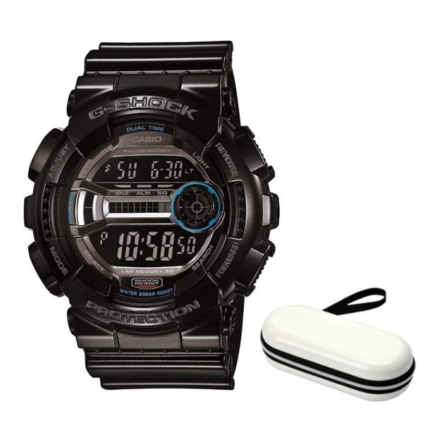 (時計ケースセット)(国内正規品)(カシオ)CASIO 腕時計 GD-110-1JF (ジーショック)G-SHOCK メンズ(樹脂バンド クオーツ デジタル)(快適家電デジタルライフ)