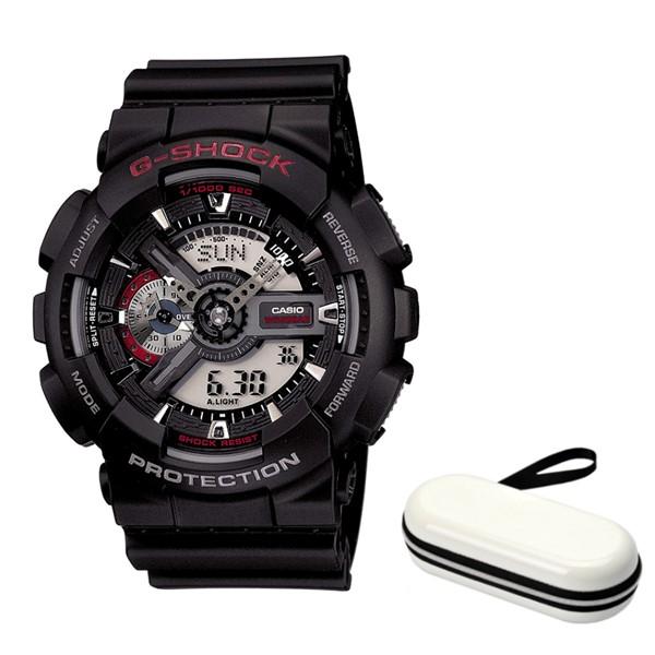 (時計ケースセット)(国内正規品)(カシオ)CASIO 腕時計 GA-110-1AJF (ジーショック)G-SHOCK メンズ(樹脂バンド クオーツ アナデジ)(快適家電デジタルライフ)